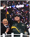 2011 Mike McCarthy Green Bay Packers Autographed 8x10 Color Photo (JSA)