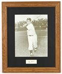 "1946-1963 Yogi Berra New York Yankees Signed 19""x 23"" Framed Photo (JSA)"