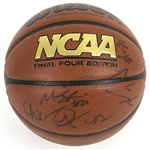 2006-07 Wisconsin Badgers Team Signed Wilson NCAA Basketball w/ 12 Signatures Including Bo Ryan, Brian Butch, Alando Tucker & More (JSA)