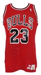 1989-90 Michael Jordan Chicago Bulls Game Worn Road Jersey (MEARS A10)