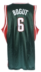 2006 Andrew Bogut Milwaukee Bucks Signed Jersey (JSA/Team LOA)