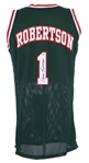 2000s Oscar Robertson Milwaukee Bucks Signed Jersey (PSA/DNA)