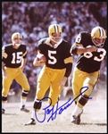 1957-1966 Paul Hornung Green Bay Packers Signed Photo (JSA)