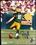"1997-2005 Ryan Longwell Green Bay Packers Signed 8""x 10"" Photo (JSA)"