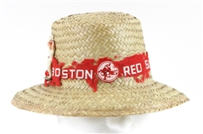 1960s Boston Red Sox Vintage Straw Hat