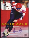 1992 Bonnie Blair Olympic Speed Skater Signed Sports Illustrated (JSA)