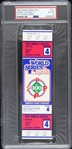 1983 Baltimore Orioles vs Philadelphia Phillies World Series Game 4 Full Ticket (PSA/DNA Slabbed)