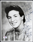 "1986 Ray ""Boom Boom"" Mancini Signed 8""x 10"" Photo (PSA/DNA)"