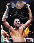 "1987 Thomas Hearns Signed 8""x 10"" Photo (PSA/DNA)"