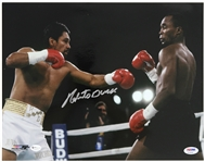 "2010 Roberto Duran Signed 11""x 14"" Photo (PSA/DNA)"