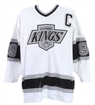 1989-95 Wayne Gretzky Los Angeles Kings Signed Home Jersey (MEARS LOA/JSA/Upper Deck)