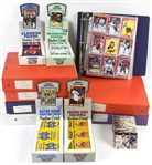 1980s-90s Baseball Hockey Collegiate Connection Trading Cards - Lot of 6,500+ w/ Unopened Packs, Complete Sets & More