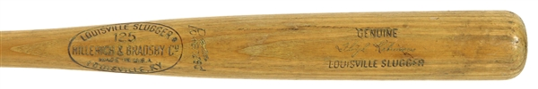 1965-66 Floyd Robinson Chicago White Sox H&B Louisville Slugger Professional Model Game Used Bat (MEARS LOA)