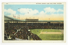 "1914-28 Chicago Cubs West Side Grounds 3.5"" x 5.5"" Postcard"