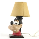 "1970s Goofy 12"" Table Lamp"