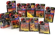 1989-92 Batman MOC Action Figures - Lot of 28 w/ Batman, Robin, Catwoman, Joker, Riddler, Penguin & More