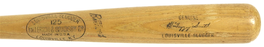 "1953-60 Al ""Fuzzy"" Smith Indians/White Sox H&B Louisville Slugger Professional Model Game Used Bat (MEARS LOA)"