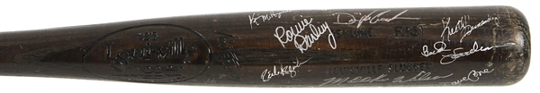 1987 New York Mets Multi Signed Sid Fernandez Professional Model Louisville Slugger w/ 12 Signatures Including Dwight Gooden, Ralph Kiner, Keith Hernandez, Mookie Wilson & More (MEARS LOA/JSA)
