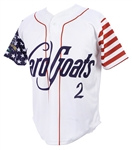 2018 Hartford Yard Goats #2 4th of July Jersey (MEARS LOA)
