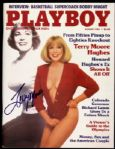 1984 Terry Moore Hughes Signed Playboy Magazine (JSA)