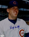 1966-73 Randy Hundley  Chicago Cubs Autographed 8x10 Color Photo *JSA*