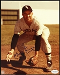 "1950-1955 Chico Carrasquel Chicago White Sox Signed 8""x 10 "" Photo *JSA*"
