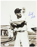 1951 Dick Cole St. Louis Cardinals Autographed 8x10 Photo *JSA*