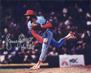 1981-1984 Bruce Sutter St Louis Cardinals Autographed Colored 8x10 Photo (JSA)