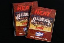1997 Miami Heat NBA Playoff Guides