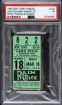 1960 Roger Maris New York Yankees 1st Spring Training w/ Team Game Ticket Stub (PSA/DNA Slabbed)