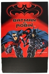 1995-97 Batman Forever and Batman & Robin Advertising Displays - Lot of 2