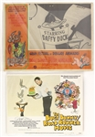 "1970s Bugs Bunny Road Runner Movie 11"" x 14 Poster & Gran Festival De Dibujos Animados 12.5"" x 16.5"" Poster - Lot of 2"