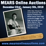 1951 Stan Musial St. Louis Cardinals Team Signed Professional Model Game Used H&B Louisville Slugger w/ 29 Sigs Including Musial, Marty Marion, Red Schoendienst & More (MEARS A7/JSA & PSA/DNA GU8)