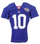 2004 Eli Manning New York Giants Home Jersey (MEARS LOA)