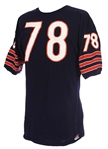 1970 Harry Gunner Chicago Bears Game Worn Home Jersey (MEARS A10)