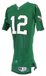 1993/95 Randall Cunningham Philadelphia Eagles Game Worn Home Jersey (MEARS A10)