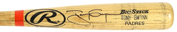 2000 Tony Gwynn San Diego Padres Signed Rawlings Adirondack Professional Model Game Used Bat (MEARS A10/JSA & PSA/DNA)