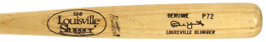 1983-85 Robin Yount Milwaukee Brewers Louisville Slugger Professional Model Game Used Bat (MEARS A7)