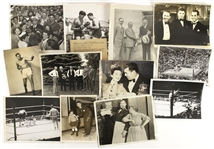 1920s Jack Dempsey Heavy Weight Champion Vintage Original Photo Collection (Lot of 23)