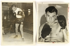 1930s James Braddock Heavy Weight Champion Vintage Photo Collection (Lot of 2)