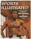 1957 Floyd Patterson Sports Illustrated Magazine Cover (JSA)