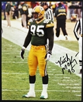 "1996-1999 Keith McKenzie Green Bay Packers Signed 8""x 10"" Photo (JSA)"
