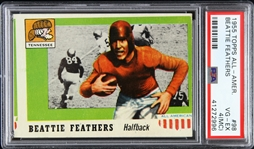 1955 Beattie Feathers University of Tennessee Topps Trading Card (PSA/DNA Slabbed)