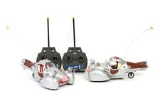 2003 Cat In The Hat Radioshack Remote Control Cars (Lot of 2)