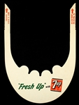 1960s 7-UP Advertising Paper Visor