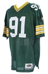 1990s Brian Noble Green Bay Packers Signed Jersey (*JSA*)