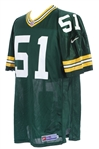 1998-2000 Brian Williams Green Bay Packers Retail Jersey