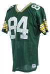 1990s Sterling Sharpe Green Bay Packers Retail Jersey