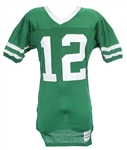 1985-87 Joe Namath New York Jets Post Career Jersey (MEARS LOA)