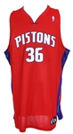 2006-08 Rasheed Wallace Detroit Pistons Alternate Jersey
